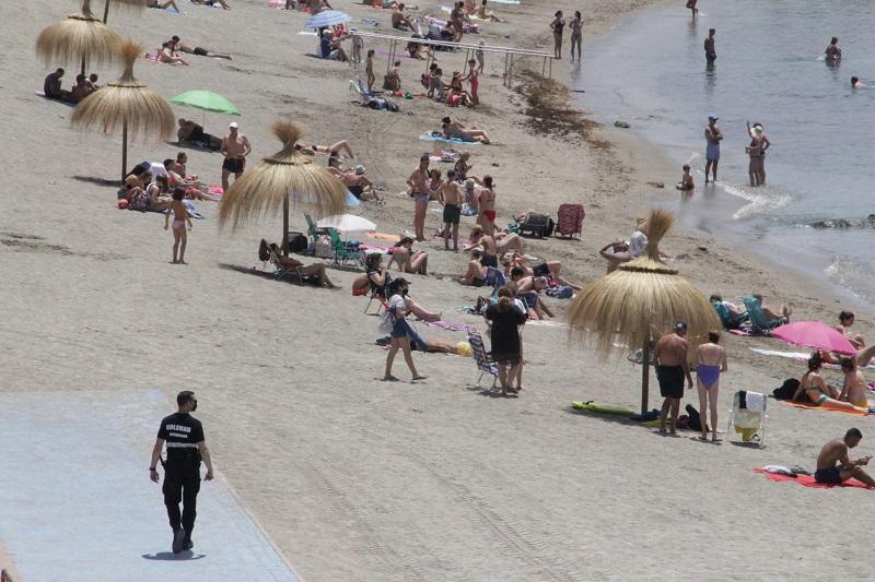 La Ciudad refuerza la seguridad y vigilancia en las playas de Ceuta