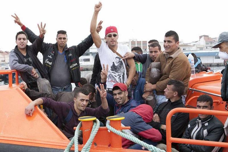 Aumenta un 147,8 por ciento el número de pateras llegadas a Ceuta en lo que  va de año | El Pueblo de Ceuta