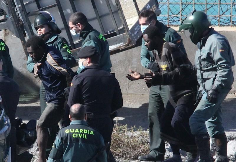 Resultado de imagen de Expulsiones en caliente a Marruecos