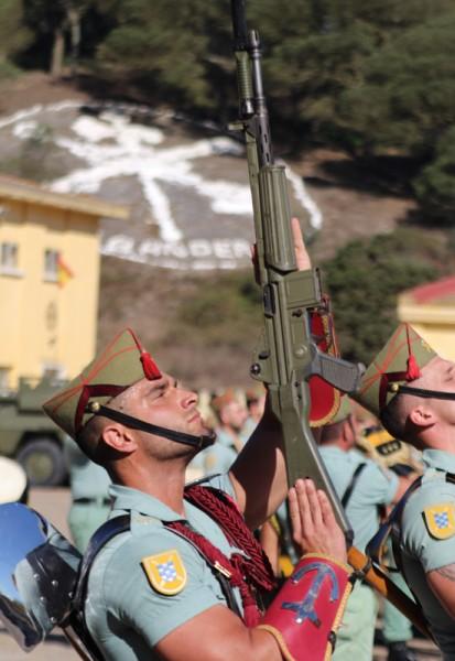 La IV Bandera de La Legión celebró con honor su 96 ...