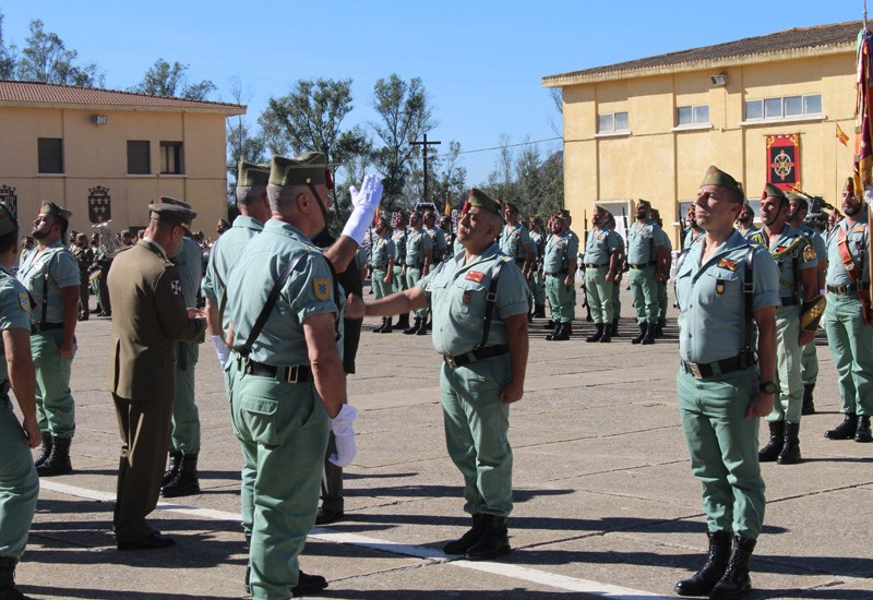 La IV Bandera de La Legión celebró con honor su 96 aniversario   El ...