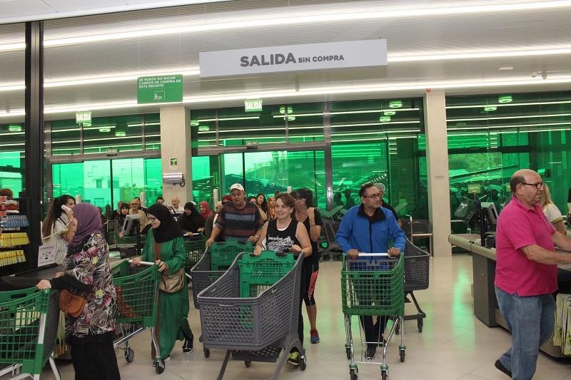 Mercadona Firma Con Un Gran Exito Su Apertura En Ceuta El Pueblo