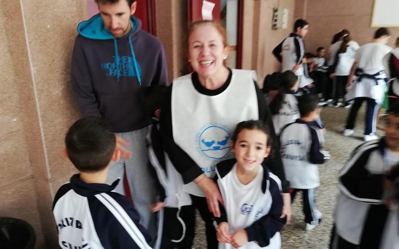El Colegio Beatriz De Silva Lleva A Cabo El Kilómetro Solidario El Pueblo De Ceuta